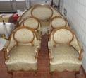 гарнитур мягкой мебели антикварный за 350000.0 руб
