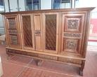 Антикварная мебель шкаф-витрина антикварный за 40000.0 руб