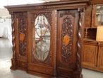 Антикварная мебель шкаф-витрина антикварный за 180000.0 руб