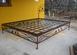 Кровать кованная J за 38000.0 руб