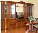 Мебель для гостиной Мальта 2735 Шкаф для посуды 3-х дверный за 64990.0 руб