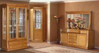 Мебель для гостиной Верона 2871 Шкаф для посуды 2-х дверный за 47870.0 руб