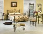 Кованая мебель кровать Adelina за 14999.0 руб