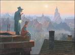 """Картина """"Пастушка и трубочист"""" за 10000.0 руб"""